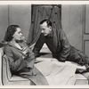 "Gertrude Lawrence and Noël Coward in the original 1936 Broadway production of ""Shadow Play"" from Noël Coward's play cycle ""Tonight at 8:30."""