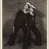 """Gertrude Lawrence and Noël Coward in the original 1936 Broadway production of """"Red Peppers"""" from Noël Coward's play cycle """"Tonight at 8:30."""""""