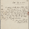 Autograph letter signed to Lackington, Hughes & Company, 22 December 1816
