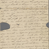 Autograph letter signed to Augusta White, 17 February 1817