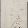 Autograph check signed to Brooks, Son and Dixon, 7 March 1817