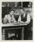 Shirley Booth and Sidney Blackmer in a scene from the stage production Come Back, Little Sheba