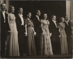 """The cast of the 1939 Noël Coward musical """"Set to Music"""""""