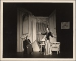 """Rosemary Lomax and Penelope Dudley  in a scene from the 1939 Noël Coward musical """"Set to Music"""""""