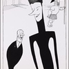 "An Al Frueh caricature of the 1939 Noël Coward musical ""Set to Music"""