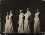 """Show girls from the 1939 Noël Coward musical """"Set to Music"""""""