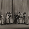 """Tilly Losch, center, in a scene entitled 'A Spanish Fantasy', from the original 1928 London production of Noël Coward's """"This Year of Grace"""""""