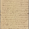 Letter to Josiah Bartlett, Philadelphia