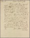 Letter to Elbridge Gerry, Cambridge