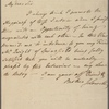 Letter to George Cabot, Beverly [Mass.]