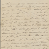 Autograph letter signed to Augusta White, 9 April 1817