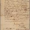 Letter to Jeremiah Wadsworth [Commissary General]