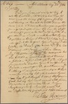 Letter to Moses Bliss, Attorney at law, Springfield [Mass.]