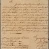 Letter to Isaac Gouverneur, Curaçoa; per Captain Seymour
