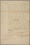 Letter to Gerard Bancker, Treasurer of New York State