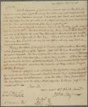 Letter to Peter T. Curtenius