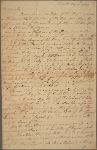Letter to [Elias Boudinot, Hanover, N. J.]
