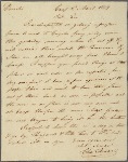 Letter to Moore Furman, Deputy Quartermaster-general, Pittstown [N. J.]