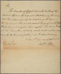 Letter to John Nixon, Chairman of Committee of Safety [Philadelphia]