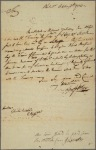 Letter to Charles Biddle, Vice-President in Council [Philadelphia]