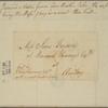 Letter to Jane Bayard, at Ravaud Kearny's, Amboy