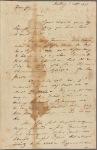 Letter to Jasper Yeates, Lancaster