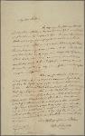 Letter to Philemon Dickinson, Trenton [N. J.]