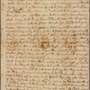 Letter to Thomas Riche, New Windsor [N. Y.?]
