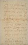 Letter to [Alexander James Dallas.]