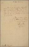 Letter to Major-General Benjamin Lincoln