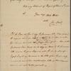 Letter to [Henry Laurens? York, Penn.?]