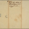 Letter to [Benjamin Franklin, President of the Supreme Executive Council of Pennsylvania?]