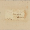 Letter to General [Elias] Dayton, Chatham [N. J.]