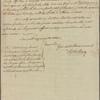 Letter to Eleazer McComb