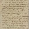 Letter to Dr. [George] Monro [Edinburgh?]