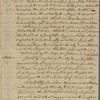 Letter to Jasper Yeates, at Edward Shippen's, Lancaster [Penn.]