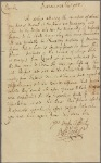 Letter to Thomas Sim Lee, Governor of Maryland, Prince George's Co