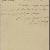 Letter to the Board of Visitors and Governors of Washington College [Chestertown, Md.]