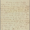 Letter to [Thomas Harwood, Treasurer, Western Shore.]