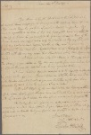 Letter to [Thomas Johnson, Governor of Maryland.]