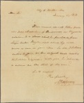 Letter to the Commissioner of Loans of Pennsylvania