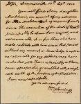 Letter to William N. Fleming, Healing Springs, Louisa