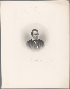 Gerrit Smith / engraved by J.C. Buttre.