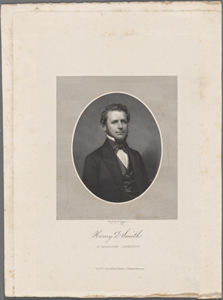 Henry D. Smith of Middleton, Connecticut / engd. by F. Halpin