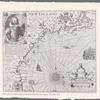 The earliest accurate map of the Massachusetts Bay region. See item 170. [Inset:] The portraictuer of Captayne Iohn Smith, admirall of New England.