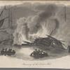 Burning of the Toulon Fleet