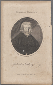 Gabriel Snodgrass, Esqr. / engraved by Drayton from an original picture by Stewart.