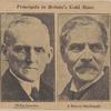 Principals in Britain's gold move. Philip Snowden.  J. Ramsay MacDonald.