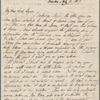 Autograph letter signed to Lord Byron, 9 July 1817