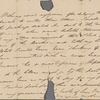 Autograph letter signed to Augusta White, 4 September 1817